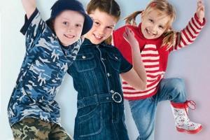 Таблицы размеров детской одежды