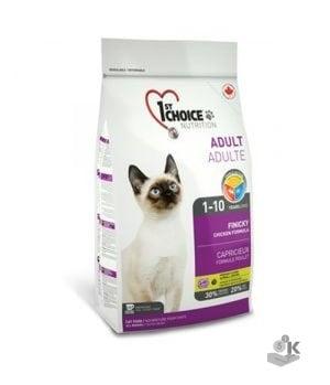 1ST CHOICE Active or Finicky сухой корм д/кошек Цыпленок 5, 44 кг