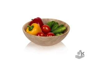 Деревянный салатник DEREVOTUT 30 см из берёзы