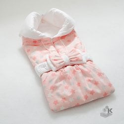 """Одеяло-трансформер """"Звездочки"""" розовый"""