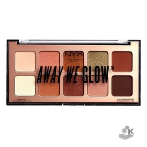 ТЕНИ ДЛЯ ВЕК. AWAY WE GLOW SHADOW PALETTE - HOOKED ON GLOW 02