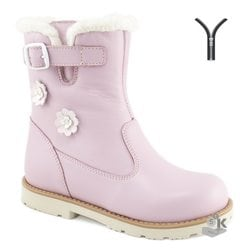 Boots insulated MEGA ortopedik baby pink