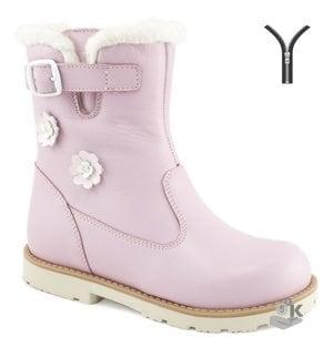 Сапожки утепленные МЕГА Ортопедик детские розовый