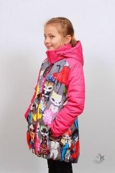 "Куртка для Девочки  ""Совушка"""