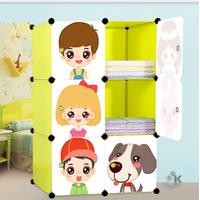 Шкаф детский сборный, модульный 6 кубов с дверками