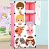 Шкаф детский сборный, модульный 8 кубов с дверкам и 1 вешалка