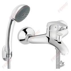 Basic смеситель для ванны настенный