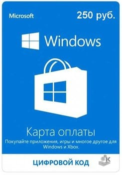 Карта оплаты Microsoft иXbox