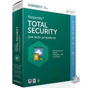 Kaspersky Total Security для всех устройств (2 устройства, 1 год)